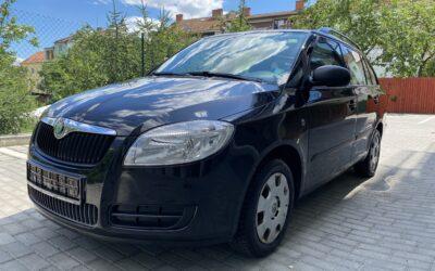 Škoda Fabia 1.4 16V,klimatizace 2009,původ DE