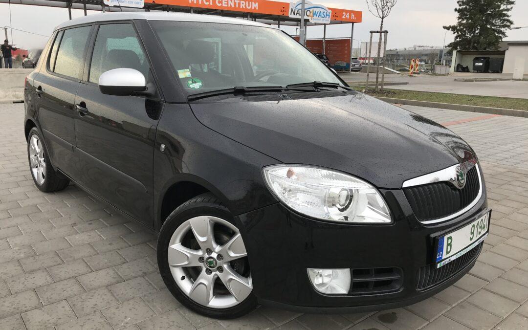 Škoda Fabia 1.6 AUTOMAT,klimatizace 2009,původ DE
